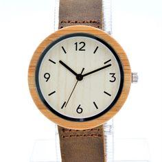 Brand New Analog Quartz Men Women Wooden Wristwatch Slim Designer 2016 Wood Watch Fashion Worldwide Free Ship With Gift Box