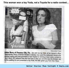 She thought she'll be Taking a TOYOTA car Home, But...