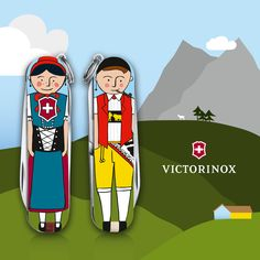 Victorinox is typically Swiss, so is Appenzell. We wanted to depict the canton Appenzell Inner Rhoden in a un-cheesy and human way:The enamored Appenzeller.