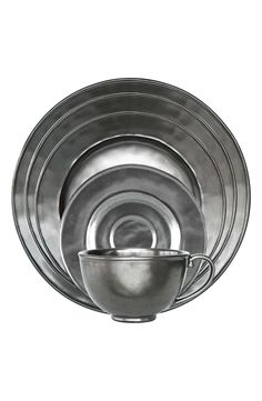 Juliska Pewter Stoneware 5-Piece Place Setting