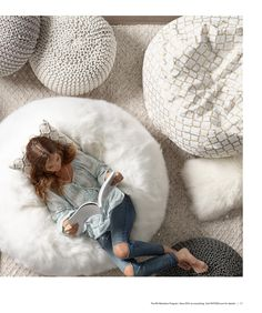 Who Doesnu0027t Want A Faux Fur Beanbag Chair?