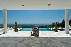pool @  luxury villa  in Cascade de Camojan, Golden Mile, Marbella, Spain.