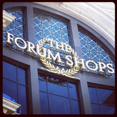 Shopping + Luxury - #luxdelux #Vegas