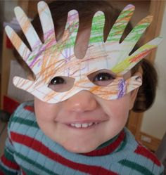 I'm thinking this could be used as a Mardi-Gras mask.. just add on some feathers and be creative.  If you don't have elastic, you can always add a jumbo craft stick to the side to hold up to the face.