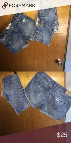 Hollister shorts sz 3 lot Hollister shorts sz 3 lot Hollister Shorts