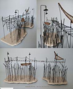 Isabelle Bonte wire landscape