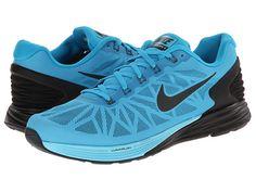 Nike LunarGlide 6 Blue Lagoon/Gym Blue/Lyon Blue/Black - Zappos.com Free Shipping BOTH Ways