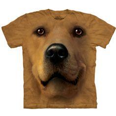 The Mountain Human T-Shirt - Golden Face