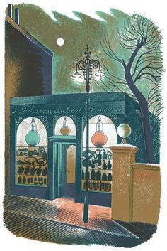 Eric Ravilious - The Story of High Street