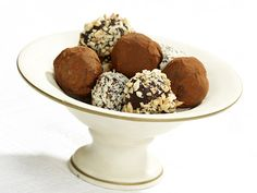 Chocolate Truffles from FoodNetwork.com