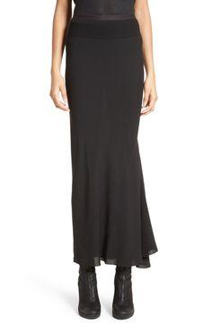 RICK OWENS Cady Midi Skirt. #rickowens #cloth #