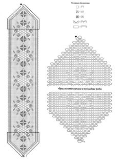 quirky hand embroidery patterns - New Ideas One Skein Crochet, Marque-pages Au Crochet, Filet Crochet Charts, Fillet Crochet, Crochet Borders, Crochet Home, Thread Crochet, Crochet Stitches, Crochet Patterns