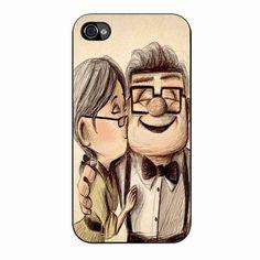 Up Disney Pixar Carl And Ellie 55 iPhone 4/4s Case