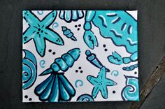 Lilly Pulitzer Canvases 8x10 by Creannative on Etsy, $18.00
