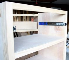 How to build a DIY nightstand bedside table - free plans and step-by-step tutorial