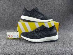 d5703a45d NOUVEAU adidas Pure BOOST Shoes Core Black Noir Solid Grey Core Black Noir  BA8899 Youth Big Boys Sneakers