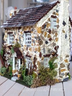 Cinderella Moments: August 2016  A teeny tiny dollhouse