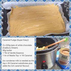 Crock Pot Caramel Fudge 06-26-2015