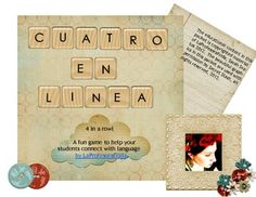 "A new ""Connect Four"" game from La Profesora Frida!  :)"