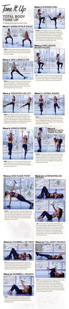 A perfect workout, this full body workout tones and tightens every part of your body!