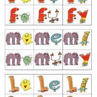 J'ai préparé pour ma louloutte, des cartes consonne longue + voyelle pour lui faire travailler tous les sons appris, je les ai imprimés en deux fois pour faire un mémo ou écrire des mots à deux...