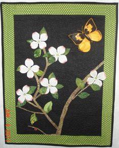 (7) Name: 'Quilting : Dogwood Quilt Pattern by Barb Mahan