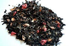 Selva negra: té negro Assam (India), cerezas confitadas, Cacao de Ecuador
