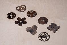 CNC切割-日本傳統符號杯墊 | MyDesy 淘靈感