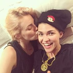 The two of them really couldn't be cuter. | Ruby Rose And Phoebe Dahl Are The Ultimate Power Couple