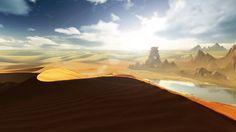 desert concept art - Google 검색