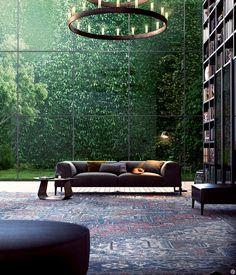 Những thiên đường mặt đất khiến bạn mát mẻ ngay lập tức 16 Green Library, Library Home, Cozy Library, Modern Library, Library Design, Reading Library, Future Library, Library Wall, Reading Nooks