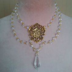 Sovereign Ties Necklace via Divinity Doll. Click on the image to see more!