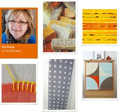 Meet Craftsy's latest Guest Pinner, Pat Sloan host of American Patchwork & Quilting Radio. Visit the Craftsy Blog to learn more about her favorite things to pin and take a look at her Craftsy board on Pinterest! Click: http://www.craftsy.com/ext/20130121_14_Knitting_1b