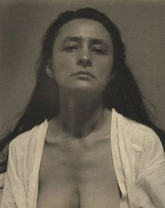 {Born November 15, 1887, this photo of Georgia O'Keeffe was taken by her mentor, patron, lover and eventual husband, Alfred Stieglitz.}