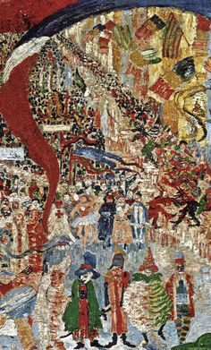[ E ] James Ensor - Entry of Jesus Christ to Brussels - Detail | by Cea.