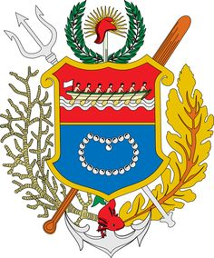 1909, Estado de Nueva Esparta, Venezuela, Capital: #LaAsunción, Ext 1150 Km² #NuevaEsparta (L2292)