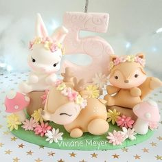 1 million+ Stunning Free Images to Use Anywhere Fondant Figures, Fondant Cakes, Cupcake Cakes, Cupcake Toppers, Polymer Clay Projects, Clay Crafts, Pretty Cakes, Beautiful Cakes, Crea Fimo