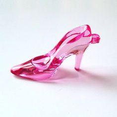 Aplique Sapatinho Cristal Pink