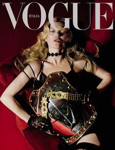 Kate Moss by Tim Walker Vogue Italia December 2015