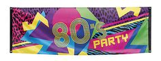 80s #1980s party retro party #poster fabric garland neon #banner flag decoration ,  View more on the LINK: http://www.zeppy.io/product/gb/2/201290905443/