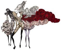 Amazing Laura Laine – fashion illustrator