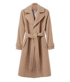 Reed Long Coat, Warm Sand
