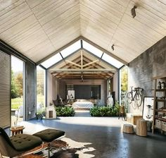 Interior Design Inspiration Barns with Accommodation Houses