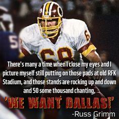 Russ Grimm Washington Redskins