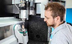 Zentrischspanner MZE von Spreitzer im zorn micro one- Bearbeitungszentrum für Präzisions Mikroteile