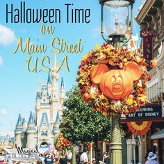 Halloween Time on Main Street U.S.A