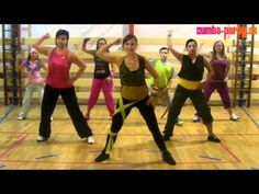 Don Omar & Lucenzo  - Danza Kuduro - Zumba choreography by Lucia Meresova [HD] - YouTube