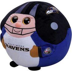 7a2302a77ce Baltimore Ravens Ty Inc Beanie Ballz 13