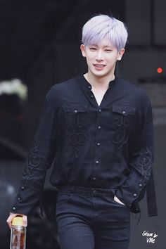 Shin Ho-seok (신호석) also known mononymously as Wonho (원호) of MONSTA X (몬스타엑스).