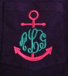 This would be great as a quill! Monogram + AXD = LOVE